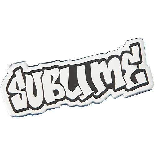C&D Visionary Sublime Logo Metal Heavy Metal Sticker