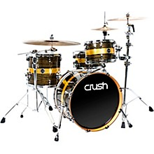 Sublime ST Maple 3-Piece Shell Pack with 20 in. Bass Drum Gold Crush