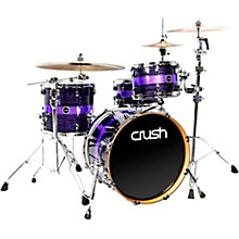 Sublime ST Maple 3-Piece Shell Pack with 20 in. Bass Drum Purple Crush