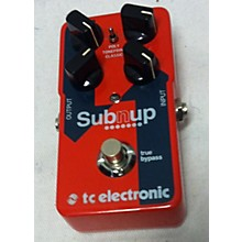 TC Electronic Subnup Effect Pedal