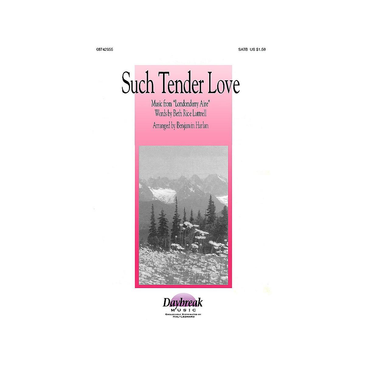 Brookfield Such Tender Love (SATB) SATB arranged by Benjamin Harlan