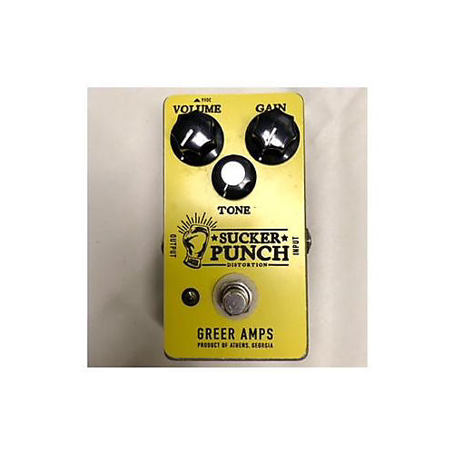 Greer Amplification Sucker Punch Distortion Effect Pedal