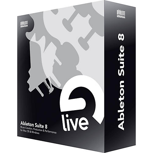 Ableton Suite 8 Upgrade from Suite 7