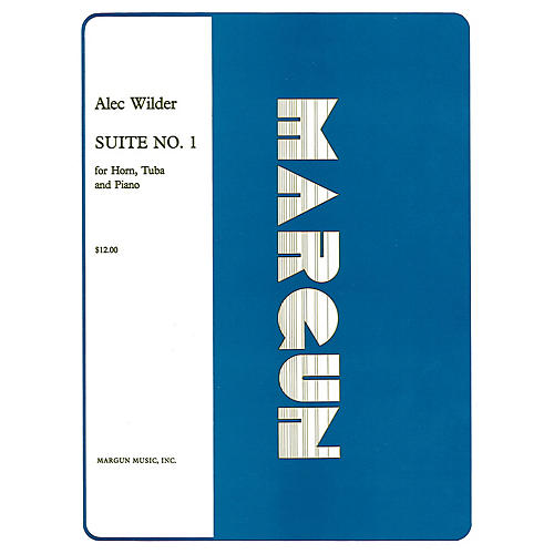 Margun Music Suite No 1 for Horn, Tuba and Piano (Full Set) Shawnee Press Series Composed by Alec Wilder