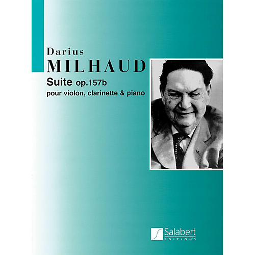Editions Salabert Suite Op. 157b (Score and Parts) Woodwind Ensemble Series Composed by Darius Milhaud