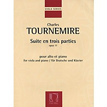 Max Eschig Suite en trois parties, Op. 11 (Viola and Piano) Editions Durand Series