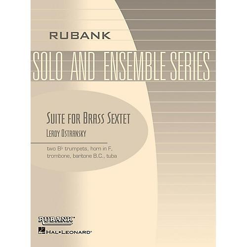 Rubank Publications Suite for Brass Sextet (Grade 3) Rubank Solo/Ensemble Sheet Series
