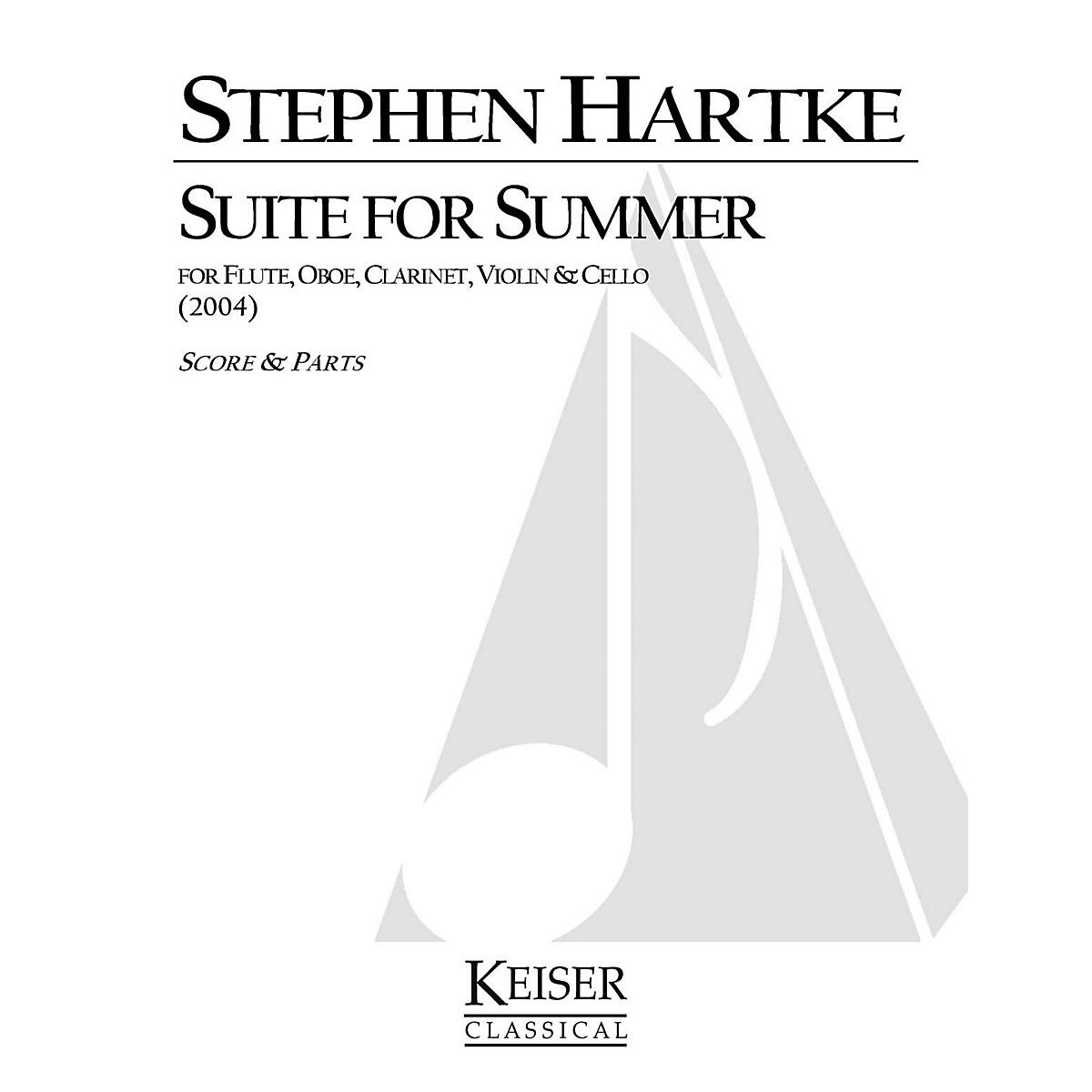 Lauren Keiser Music Publishing Suite for Summer LKM Music Series Composed by Stephen Hartke