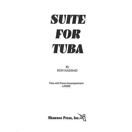 Shawnee Press Suite for Tuba (Tuba in C (B.C.) and Piano) Shawnee Press Series