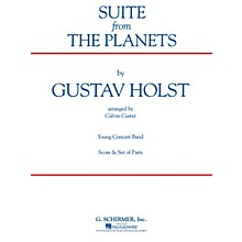 G. Schirmer Suite (from The Planets) (Score and Parts) Concert Band Level 4-5 Composed by Gustav Holst