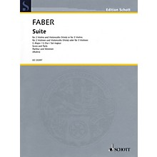 Schott Suite in G Major String Ensemble Series Softcover Composed by Johann Christoph Faber
