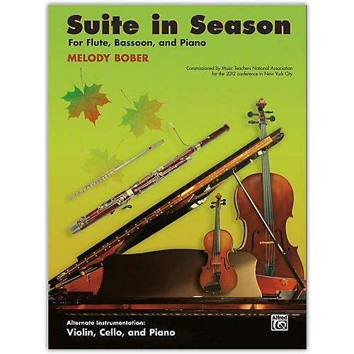 Alfred Suite in Season Flute, Bassoon & Piano Late Intermediate