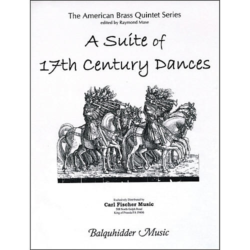 Carl Fischer Suite of 17th Century Dances, A Book