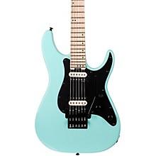 Schecter Guitar Research Sun Valley Super Shredder FR SFG Electric Guitar Level 1 Sea Foam Green Black Pickguard