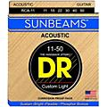 DR Strings Sunbeam Phosphor Bronze Medium Lite Acoustic Guitar Strings thumbnail