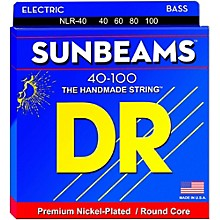DR Strings Sunbeams NLR-40 Light 4-String Bass Strings