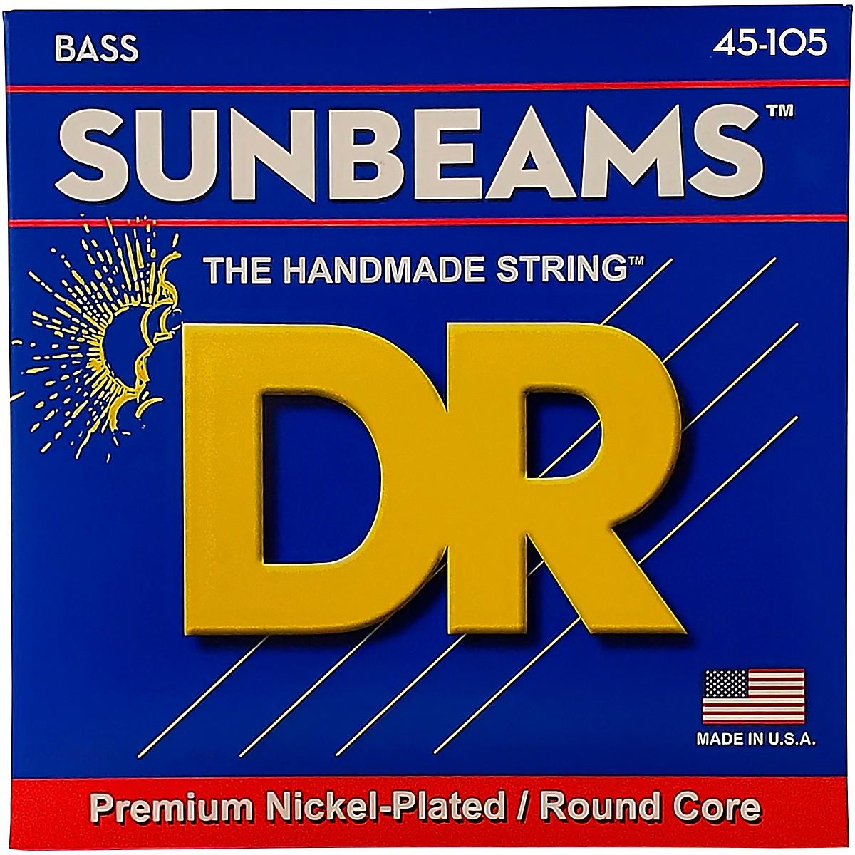 DR Strings Sunbeams NMR-45 Medium 4-String Bass Strings