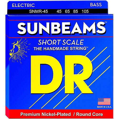 DR Strings Sunbeams SNMR-45 Medium Short Scale 4 String Bass Strings