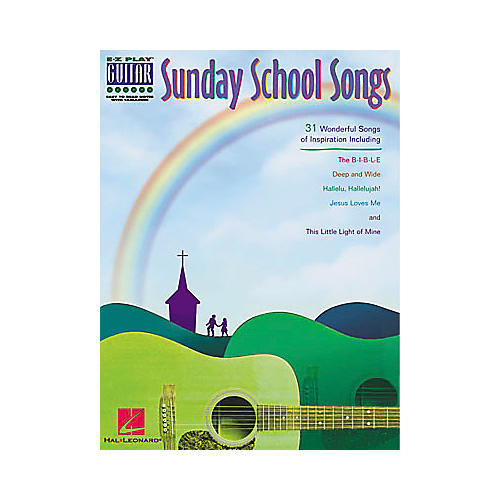 Hal Leonard Sunday School Songs Easy Play Guitar Book