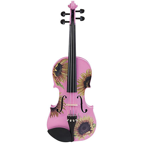 Rozanna's Violins Sunflower Delight Pink Series Violin Outfit