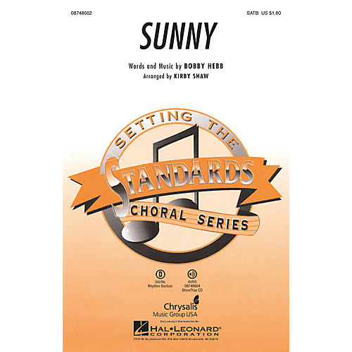 Hal Leonard Sunny SSA Arranged by Kirby Shaw