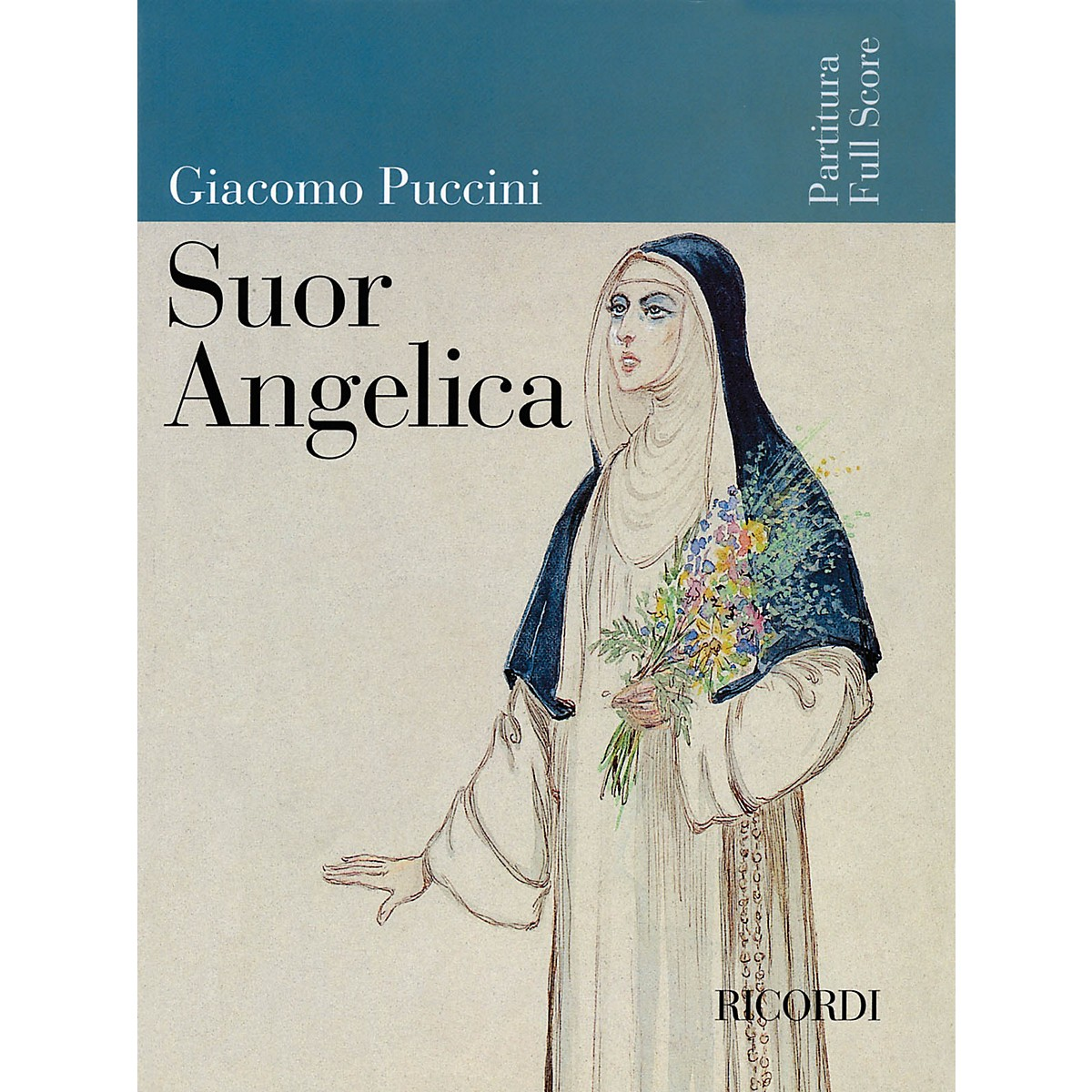 Ricordi Suor Angelica (Full Score) Misc Series  by Giacomo Puccini