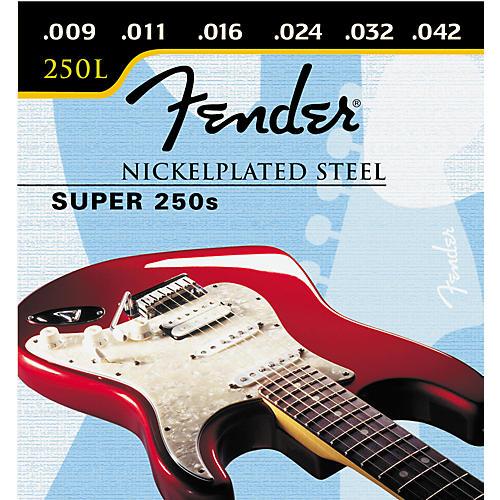 fender super 250l nickel steel light ball end electric guitar strings guitar center. Black Bedroom Furniture Sets. Home Design Ideas