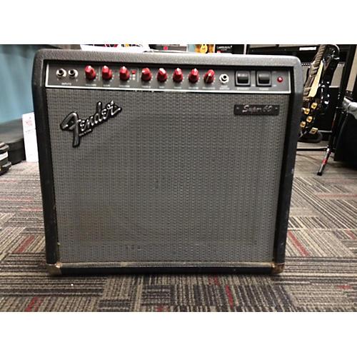 Fender Super 60 Black Tolex Tube Guitar Combo Amp
