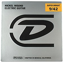 Dunlop Super Bright Light Nickel Wound Electric Guitar Strings (9-42)