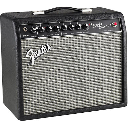 fender super champ x2 15w 1x10 tube guitar combo amp black guitar center. Black Bedroom Furniture Sets. Home Design Ideas