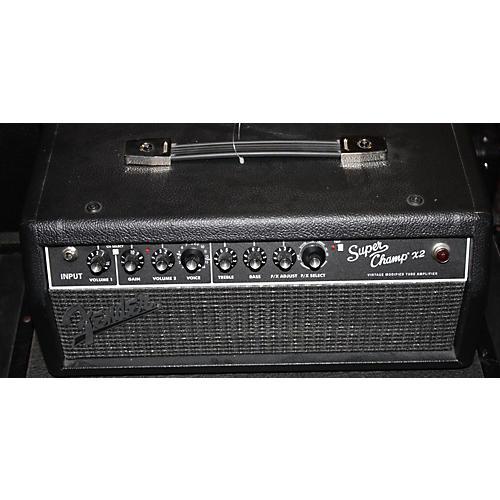 used fender super champ x2 15w tube guitar amp head guitar center. Black Bedroom Furniture Sets. Home Design Ideas