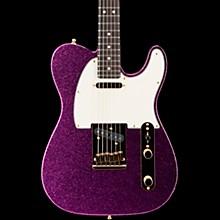 Super Custom Deluxe Telecaster Electric Guitar Magenta Sparkle