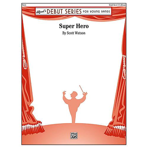 Alfred Super Hero Concert Band Grade 1.5 (Easy)