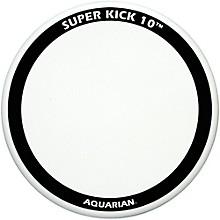 Aquarian Super-Kick 10 Bass Drum Head Level 1 White Coated 24 in.