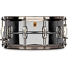 Super Ludwig Chrome Brass Snare Drum with Nickel hardware 14 x 6.5 in.