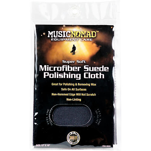 Music Nomad Super Soft Edgeless Microfiber Suede Polishing Cloth