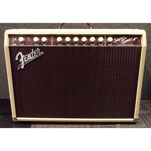 Fender Super Sonic 22 22W 1x12 Blonde Tube Guitar Combo Amp