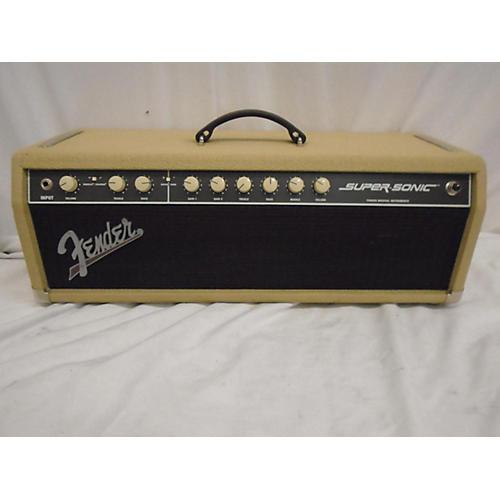 used fender super sonic 60 60w tube guitar amp head guitar center. Black Bedroom Furniture Sets. Home Design Ideas