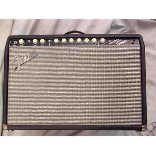 Fender Super Sonic 60W 1x12 Tube Guitar Combo Amp
