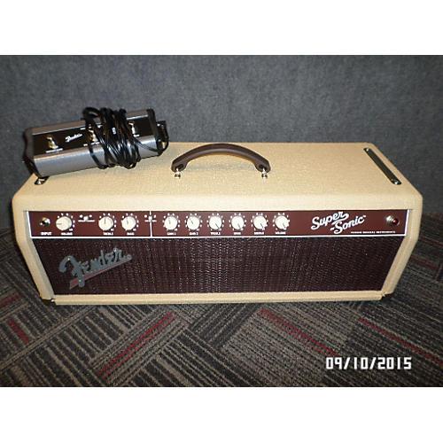Fender Super Sonic 60W Tube Guitar Amp Head