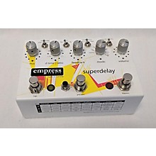 Empress Effects Superdelay Digital Delay Effect Pedal