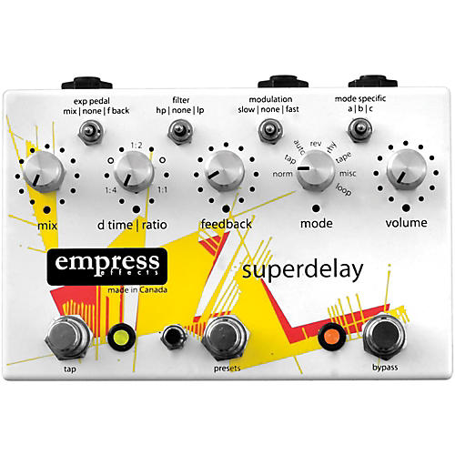 Empress Effects Superdelay Guitar Effects Pedal