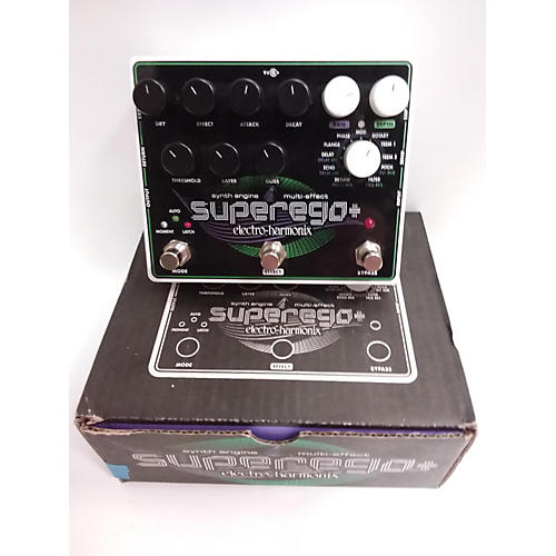 Electro Harmonix Superego : used electro harmonix superego synth effect processor guitar center ~ Russianpoet.info Haus und Dekorationen