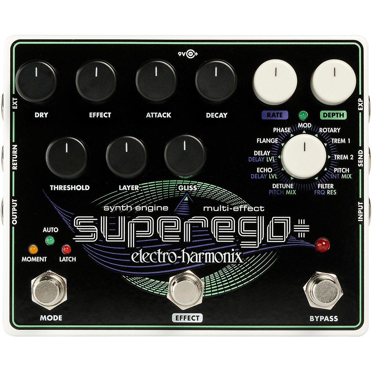 Electro-Harmonix Superego+ Synth Effects Pedal