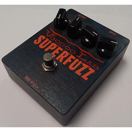 used voodoo lab superfuzz effect pedal guitar center. Black Bedroom Furniture Sets. Home Design Ideas