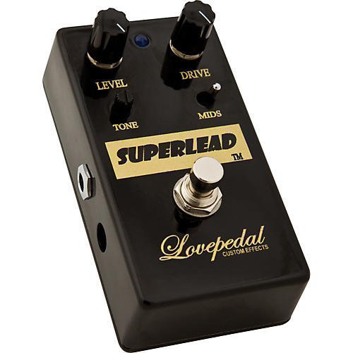 Lovepedal Superlead Distortion Guitar Effects Pedal
