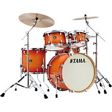 Superstar Classic 5-Piece Shell Pack with 20 in. Bass Drum Tangerine Lacquer Burst