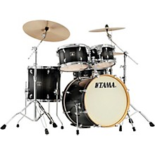 Superstar Classic 5-Piece Shell Pack with 20 in. Bass Drum Transparent Black Burst