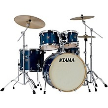Superstar Classic Custom 5-Piece Shell Pack Transparent Blue Lacquer