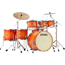 Superstar Classic Custom 7-Piece Shell Pack Tangerine Lacquer Burst